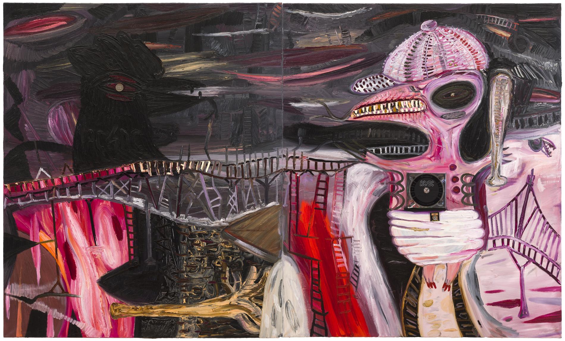 Abdul Vas. Rock ´N´ Roll. '83 Rock n`Roll Truck, 2008 (diptych)
