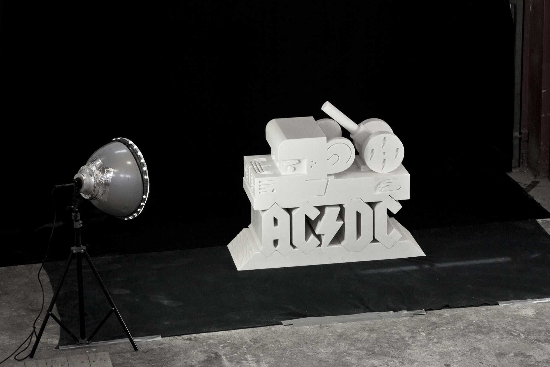 "Abdul Vas. AC/DC 40th Anniversary ""Hard As A Rock"", 2013"
