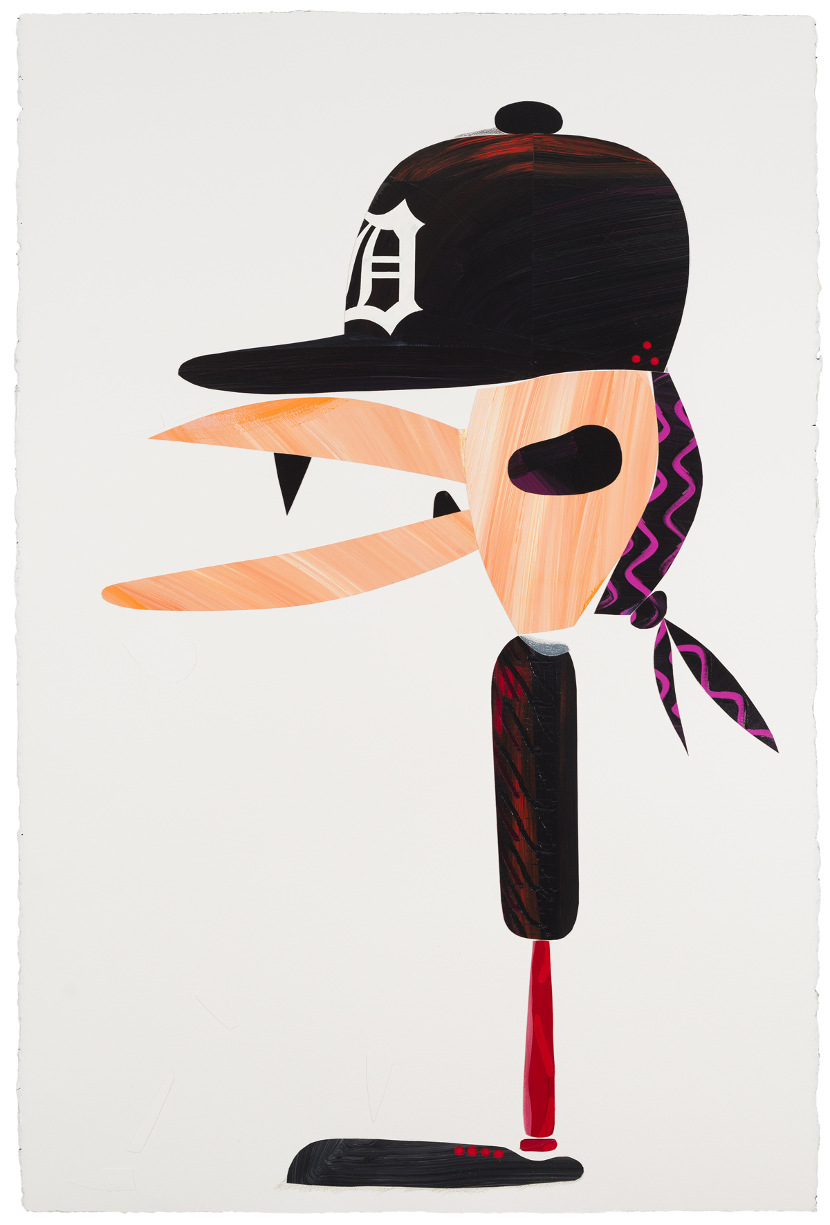 Abdul Vas. The Cut-Outs Rock Edge. Miguel Cabrera Detroit Tigers, 2012.