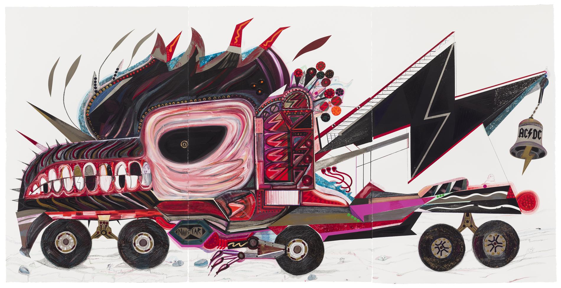 Abdul Vas. American Truck. Sir Angola 83 Hell`s Bell Zedu Eduardo Dos Santos, Angola, IN-Navistar, 2014