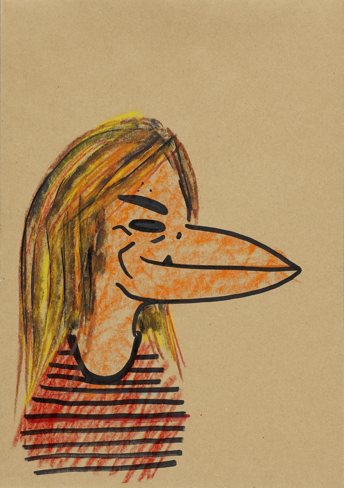 """Abdul Vas. ACDC. Cliff Williams Portrait """"Down Payment Blues"""" Powerage, 2012."""