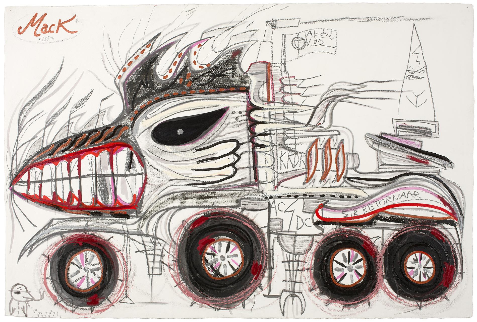 Philip Guston. Abdul Vas. American Truck. Mack, 2003. AC/DC Highway To Hell. Hypebeast