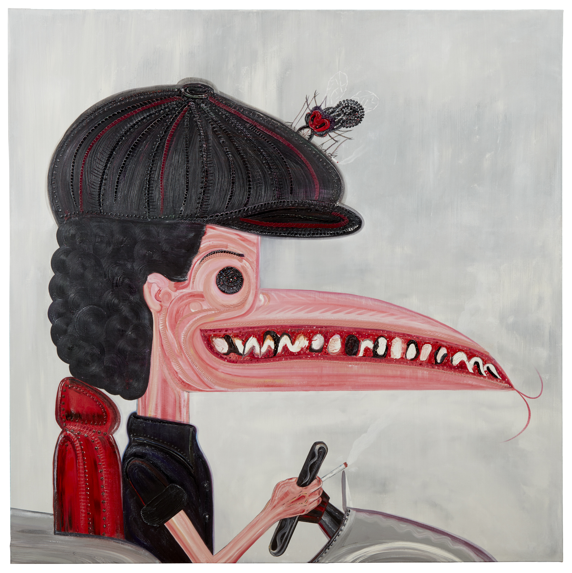 Philip Guston Cars. Brian Johnson Portrait, Abdul Vas. AC/DC Fly On The Wall, 2015. Hypebeast, Saul Bass.. Dazed and confused